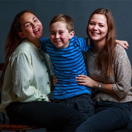 Unge mennesker på billedet fra København