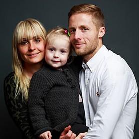 Fodboldfamilie fra København